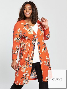 v-by-very-curve-longline-kimono-blouse-orange-print