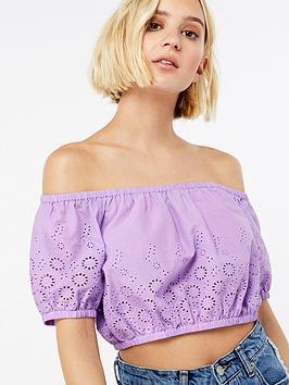 accessorize-bardot-bubble-top-lilac