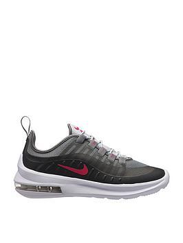 1d285352a81a16 Nike Air Max Axis Junior Trainers - Black Pink