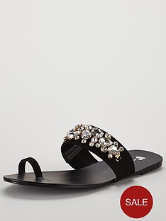 v-by-very-cairo-jewel-trim-toe-post-sandal-black