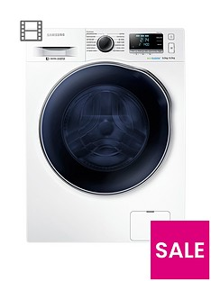 samsung-wd90j6a10aweu-9kg-wash6kg-dry-1400-spin-washer-dryer-with-ecobubbletrade-technologynbsp--white