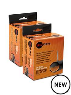 velowurks-26-x-150-210rdquo-schrader-valve-self-sealing-inner-tubes-pack-of-2