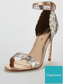 michelle-keegan-glitter-scallop-sandal-rose-gold