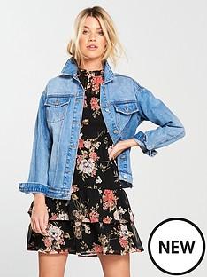 v-by-very-girlfriend-denim-jacket-vintage-wash
