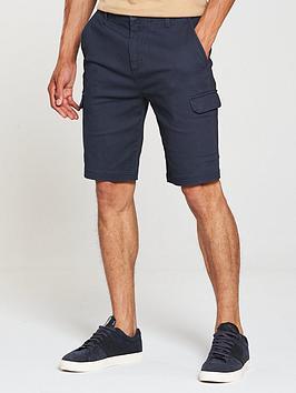v-by-very-cargo-pocket-shorts-navy