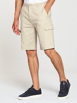 v-by-very-mens-cargo-pocket-shorts-stone