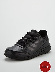 2716c3780f89 adidas Alta Sport Childrens Trainers - Black