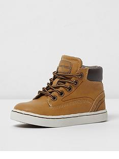 river-island-mini-boys-tan-lace-up-boots