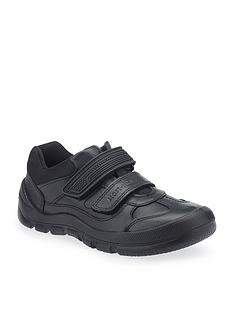 start-rite-boys-warrior-velcro-strap-school-shoe-black
