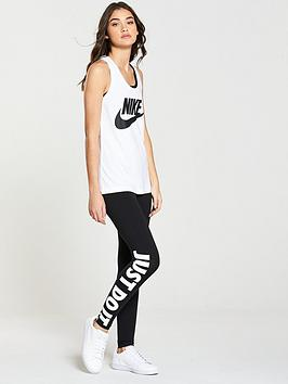 Get Authentic Online Clearance Lowest Price nbsp HBR Tank Top nbsp  Nike Essential Sportswear White oPWVm3oL46
