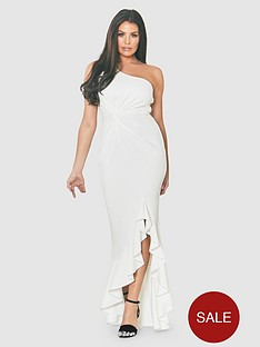jessica-wright-one-shoulder-thigh-split-frill-maxi-dress-whitenbsp