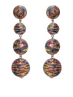 mango-pom-pom-earrings