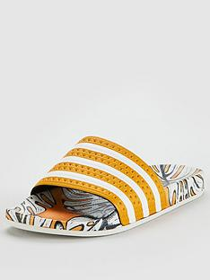 adidas-originals-adilette-slider-yellowwhitenbsp