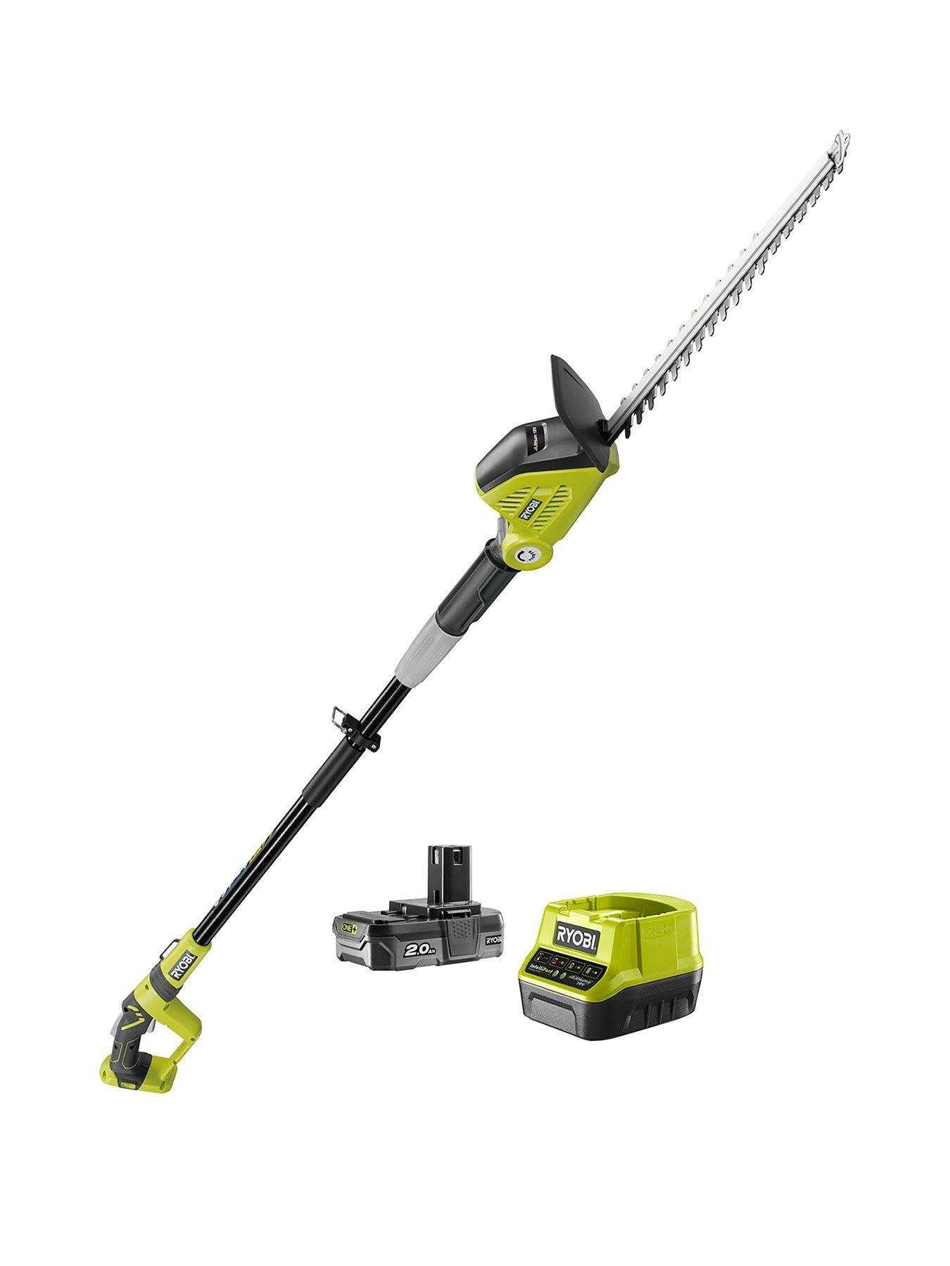 30/cm Cutting Width, 600/W Ryobi rlt6130/Battery-Charged Hedge Trimmer