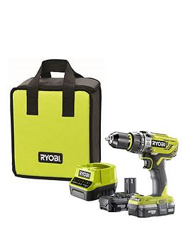 r18pd31-213s-18v-one-cordless-compact-combi-drill-starter-kit-2-x-13ah