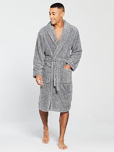 v-by-very-v-by-very-grey-fleck-supersoft-robe-grey