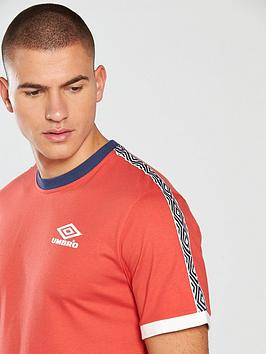 Cheap Discounts Umbro T Tape Shirt Projects Ringer Discount Clearance Store For Cheap Cheap Wiki K4eXRUO
