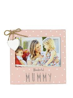 mothers-day-love-life-mdf-photo-frame-6quot-x-4quot-wonderful-mummy