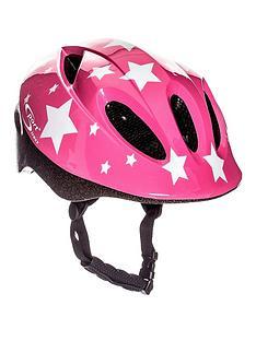 sport-direct-sport-direct-pink-stars-childrens-helmet-48-52cm