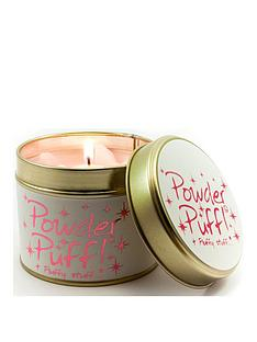 lily-flame-powder-puff-candle-tin