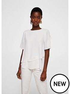 mango-maracuyanbspfrill-hem-floaty-blouse-off-white