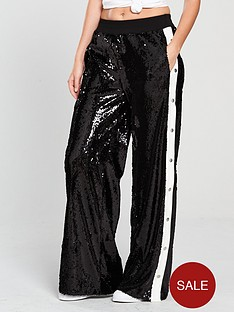v-by-very-unique-sequin-popper-side-trousers-black