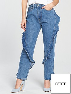 lost-ink-petite-slim-mom-jean-with-diagonal-frill