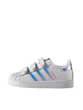 Adidas Originals Superstar Infant Trainer White Iridescent