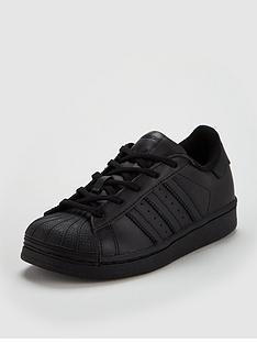 on sale 1a23d dce86 adidas Originals Superstar Childrens Trainer - Black