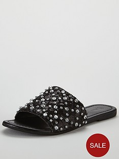 v-by-very-dubai-embellished-slider-black