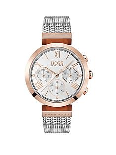 boss-hugo-boss-sport-classic-stainless-steel-and-carnation-gold-plated-ladies-watch