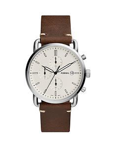 fossil-fossil-mens-chronograph-watch-brown-leather-strap-stainless-steel-case-cream-dial