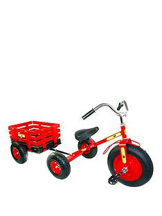 tow-039n039-go-childrens-trike-tricycle-with-trailer-red