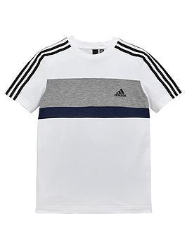 adidas-boys-tee-whitenbsp