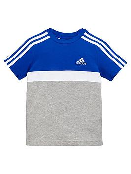 adidas-younger-boys-cotton-tee-royal-bluenbsp