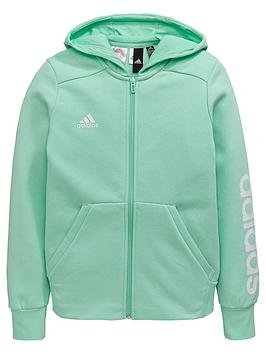 adidas-older-girls-linear-hoodie