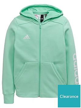 adidas-older-girls-linear-hoodie