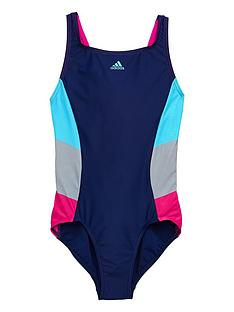 adidas-girls-1-piece-swimsuit-dark-bluenbsp