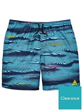 adidas-parley-boys-short-blue-multinbsp