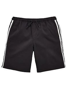 adidas-boys-3-stripe-swim-short-black