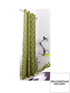 catherine-lansfield-neon-football-eyelet-curtains-in-yellow