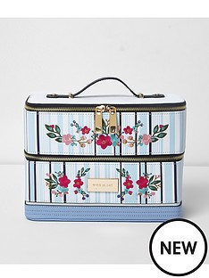 river-island-printed-vanity-case-blue