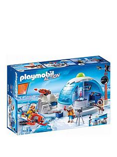 playmobil-9055-action-arctic-expedition-headquarters