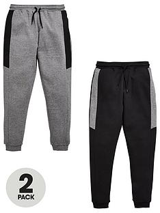 v-by-very-2-pack-joggers-blackgrey