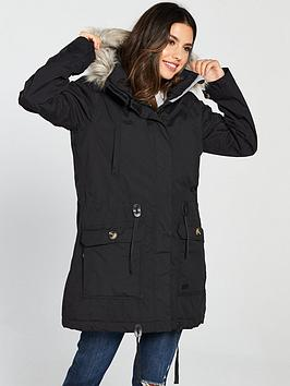 33e292d3dd3e3 Trespass Dollies Parka - Black