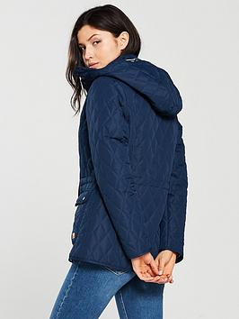 Navy Jenna Jacket II Trespass  Free Shipping Low Shipping Sale Brand New Unisex Outlet Footlocker Pictures Buy Cheap Geniue Stockist 3z5y1b5v