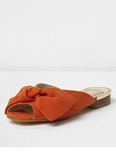 river-island-backless-peep-toe-sandals-orange