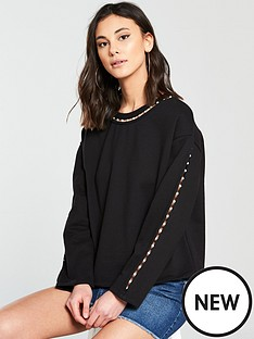 river-island-pearl-sweater-black