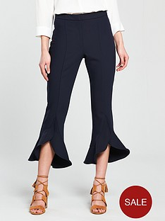river-island-river-island-crop-frill-hem-trousers--navy