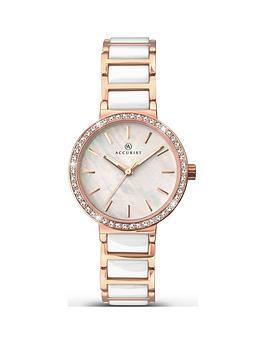 accurist-accurist-white-mother-of-pearl-ceramic-bracelet-ladies-watch